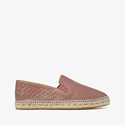 Bottega Veneta Intrecciato Leather Espadrille (Deco Rose) Women