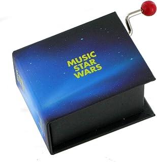 Caja de m/úsica caja musical de manivela de cart/ón en forma de libro Para Elisa L. V. Beethoven
