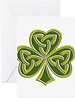 CafePress - Celtic Trinity - Greeting Card (20-pack), Note Card with Blank Inside, Birthday Card Matte