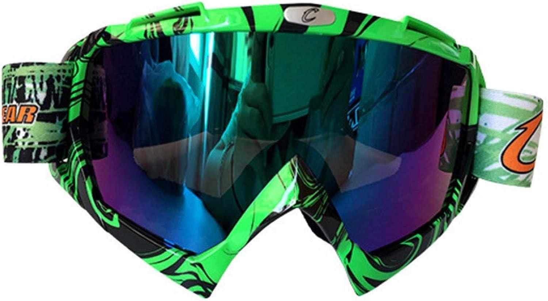CFHJN Home Brillen Brillen, Skibrillen, Reitbrillen, Ritterausrüstung, Wind- und Staubdicht, PC Explosionsgeschützte Materialbrillen