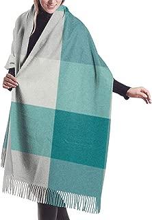 Grey greek key watercolor pattern Shawl Wrap Winter Warm Scarf Cape Large Scarf Oversized Scarves For Women