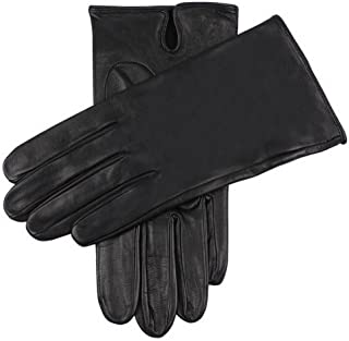 Dents Mens Skyfall Leather Gloves - Black