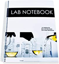Lab Notebook 50 Carbonless Pages Spiral Bound (Copy Page Perforated)