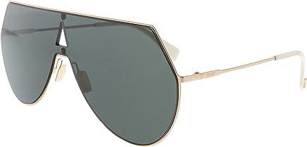 9e2e9088dc Fendi FF0193 S 0DDB Gold Copper Aviator Sunglasses