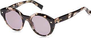 نظارة شمسية بيضاوية للنساء من ماكس مارا، عدسات بلون ارجواني