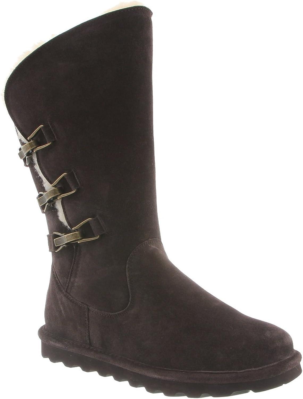 BEARPAW Women's Jenna Tall Boots, Chocolate