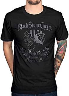 Black Stone Cherry Rooster Breathable Tee,Funny Men's Stylish Soft T-Shirt