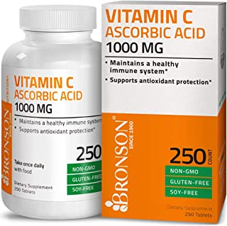 bronson vitamin c non acidic sodium ascorbate powder