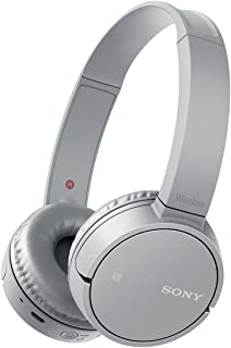 ソニー SONY ワイヤレスヘッドホン WH-CH500 : Bluetooth対応 最大20時間連続再生 マイク付き 2018年モデル グレー WH-CH500 HC
