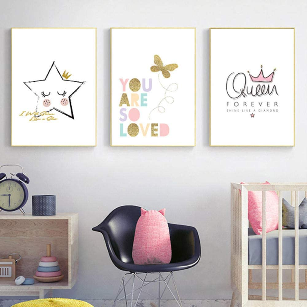 price PVC Crystal self-Adhesive paintingNordic Gold Butterfly Now free shipping Painting