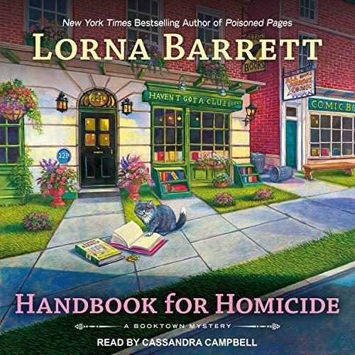 Handbook for Homicide Audiobook By Lorna Barrett cover art