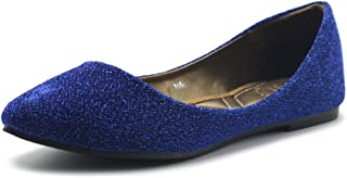 Women's Shoes Ballet Comfort Glitter Light Pointed Toe Flats