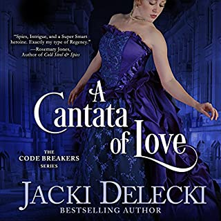 A Cantata of Love     The Code Breakers Series, Book 4              Written by:                                                                                                                                 Jacki Delecki                               Narrated by:                                                                                                                                 Pearl Hewitt                      Length: 7 hrs and 49 mins     Not rated yet     Overall 0.0
