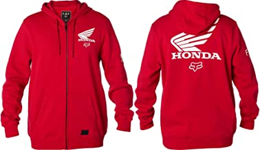 Sudadera Con Cremallera Fox Honda Dark Rojo (Xl , Rojo)