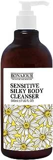 [BONAJOUR] Organic & Sulfate Free, Sensitive Skin Body Wash – Premium Moisturizing Cleanser For Dry, Sensitive Skin 17 Fl. Oz