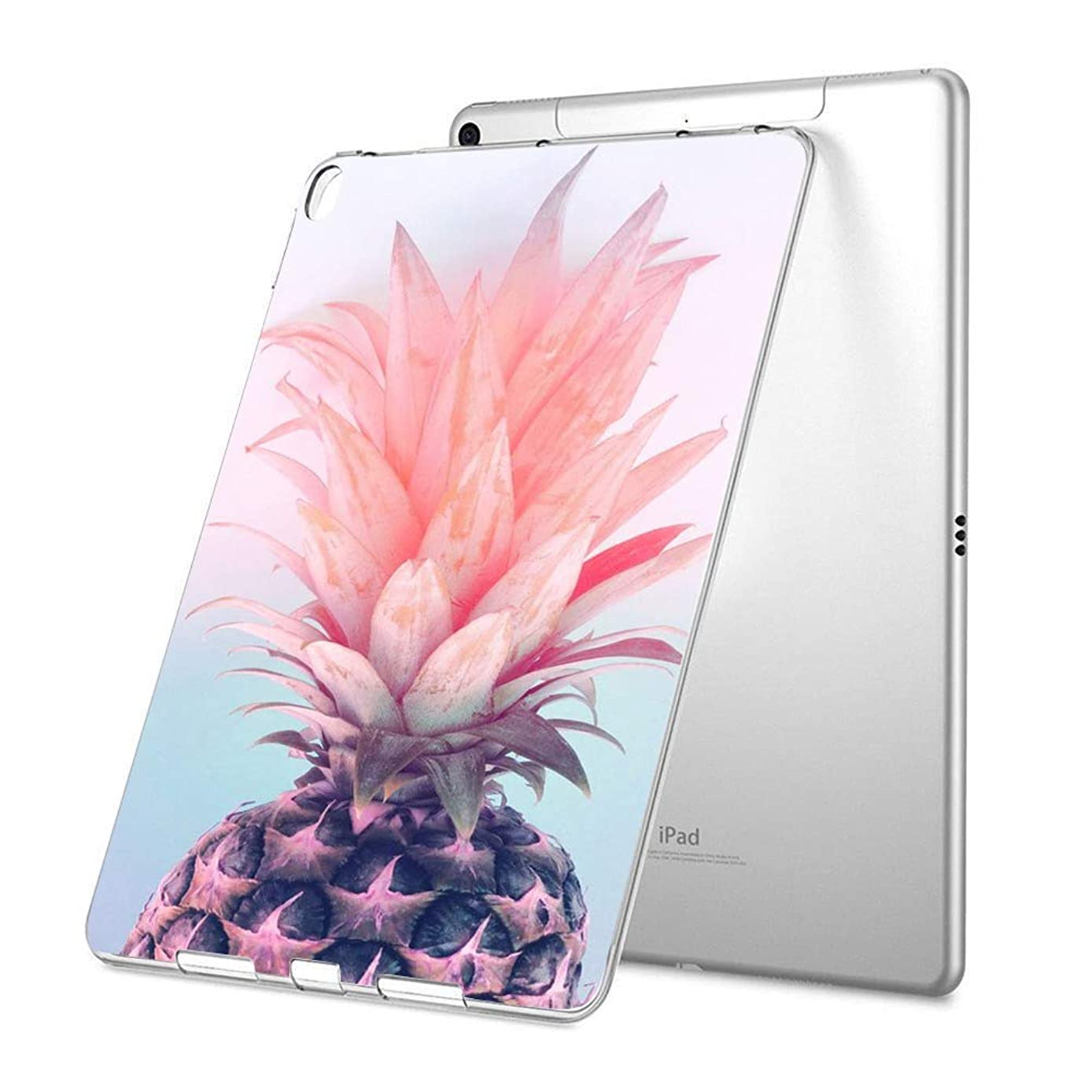 Customized Protective Cover with Personalized Durable TPU Ultra-Clear Silicone UV Printing Case for Pineapple iPad Mini 4