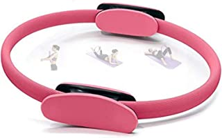 Pilates Ring, Double Handle Exercise Yoga Magic Circle for Toning Thighs, Abs and Legs, Fat Burnning