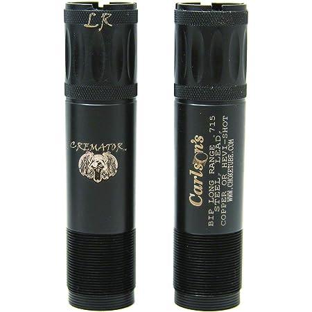 MR /& LR Carlsons Choke Tube Browning Invector Plus Cremator Ported Waterfowl Choke Tubes Black 12 Gauge 11522