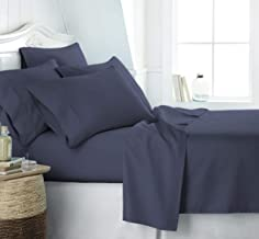 Simply Soft Ultra 6 Piece Bed Sheet Set, Twin/X-Large, Navy