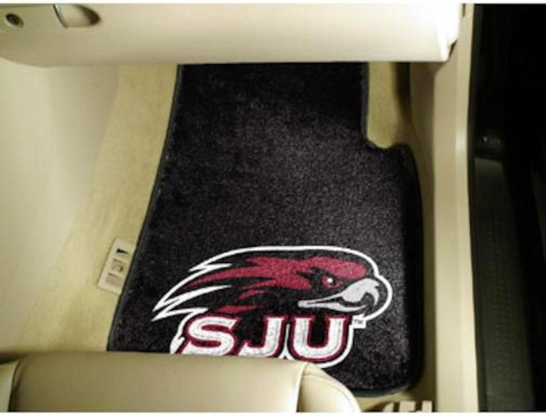 St. Josephs University 2 Piece Front Car Mats