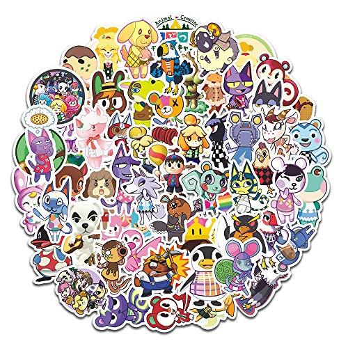 YOUYOU Pegatina de cruz de animales Bosque Amigos Club Graffiti Pegatinas de Ordenador Móvil Skateboard Pegatina Amipo Animal Nakleki