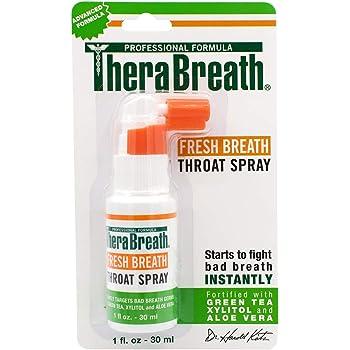 TheraBreath Fresh Breath Throat Spray, 1 Ounce Bottle