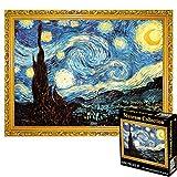 VIDOO 1000 Pcs/Box Jigsaw Puzzles Starry Sky Abricot Blossom Water Lily Puzzle Jouet pour Adultes Enfants Jeux Éducatifs Jouets Home Decorations - A