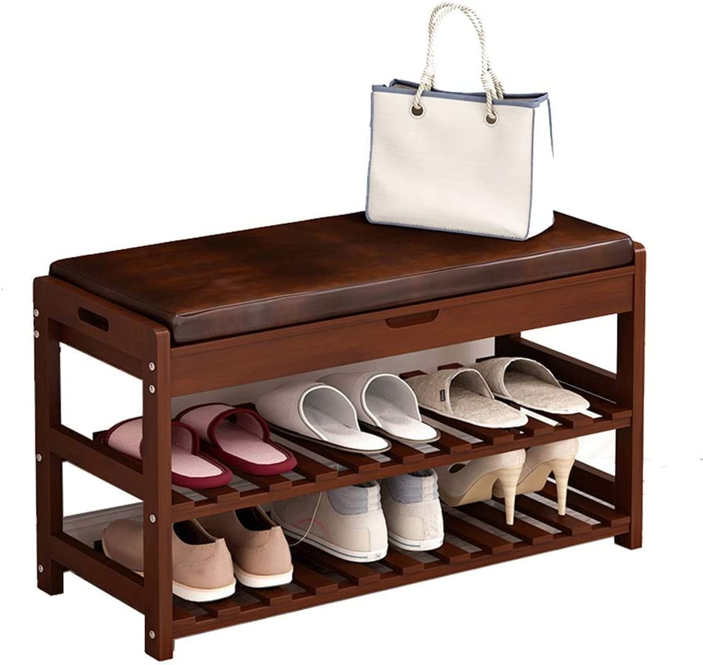 ViewSys Solid Wood Year-end annual account Shoe Rack Storage Entryway She Popular products Household