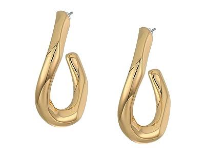 Rebecca Minkoff Link Earrings (Gold) Earring