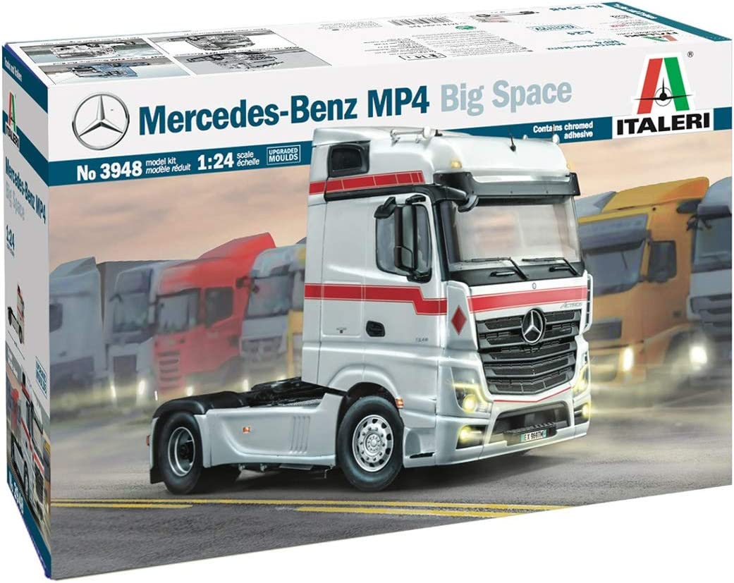 Italeri 3948S 1:24 Mercedes-Benz MP4 New life Replica Faithful Space Big Safety and trust