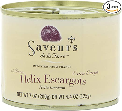 Saveurs de la Terre (Canned Escargots from France)