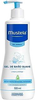 Mustela Bebê Sabonete Líquido hipoalergênico Gel Lavante Corpo e Cabelo, desde o nascimento com ativos naturais e patenteados, 500 ml