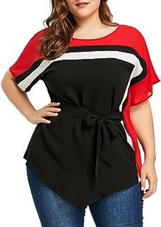 8379baf1c Amazon.es: 4XL - Blusas y camisas / Camisetas, tops y blusas: Ropa