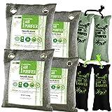 Bamboo Charcoal Air Purifying Bags, Nature Fresh Air Purifier Bags, Activated Charcoal Air