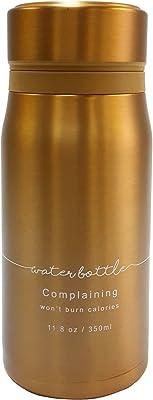 ベストコ メッセージ ステンレスボトル 350ml ゴールド ND-8623