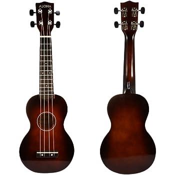 Ukelele de guitarra, ukelele instrumento de regalo para adultos ...