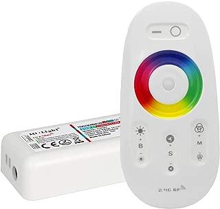 LIGHTEU, control remoto de 2.4GHz LED y controlador de RF para RGBW (RGB + Blanco) Tiras de LED, 2.4GHz LED Remote Control and RF controller for the RGBW (RGB+White) LED strips