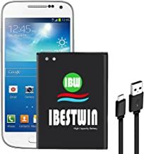 Galaxy S4 Mini Battery IBESTWIN 3.8V 1900mAh Li-ion Battery Replacement for Samsung..