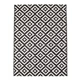 carpet city Outdoor-Teppich Wetterfest Balkon Terrasse Modern Geometrisches Muster in Anthrazit; Größe: 160x230 cm - 3