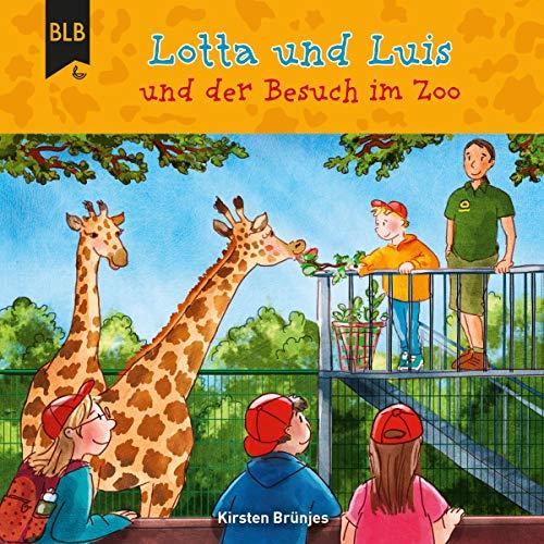 Lotta und Luis und der Besuch im Zoo cover art