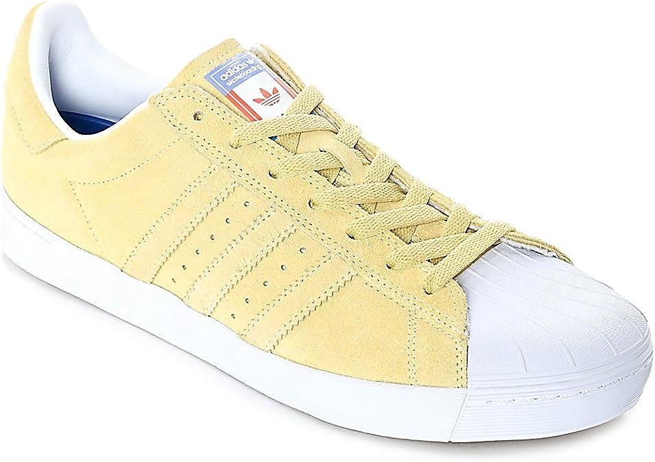 Amazon.com   adidas Superstar Vulc Adv CG4838 - Pastel Yellow - US ...