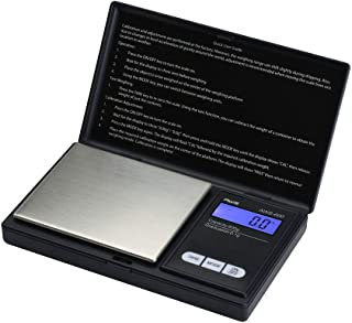 American Weigh Scales AWS Series Digital Pocket Weight Scale, Black, 600G x 0.1G (AWS-600-BLK)
