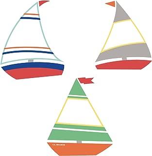 Carson Dellosa – SS Discover Sailboats Mini Colorful Cut-Outs, Classroom Décor, 35 Pieces