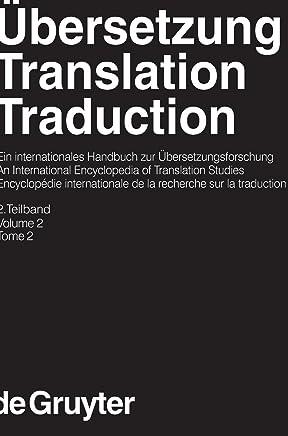 Kittel, Harald; Frank, Armin Paul; Greiner, Norbert; Hermans, Theo; Koller, Werner; Lambert, Jose; Paul, Fritz: Ubersetzung - Translation - Traduction