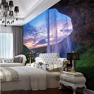 Wemall Mural de papel tapiz para sala de estar Dormitorio Decoración de pared para el hogar papel de parede quarto Wall paper 3D, 250x175 cm (98.4 por 68.9 in)