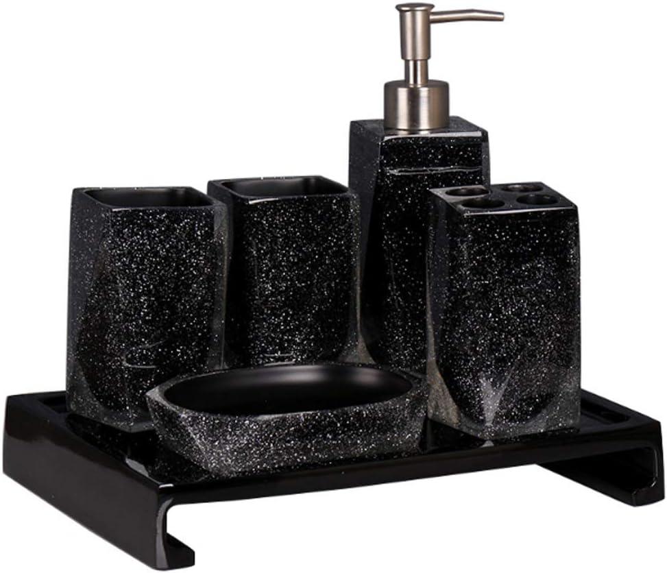 QIFFIY Bathroom Accessories Set Sky Starry Simple 5 ☆ Fort Worth Mall popular Acces