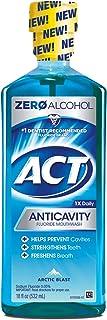 Act Anticavity Fluoride Mouthwash, Arctic Blast, 18 Oz