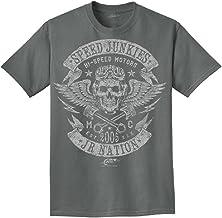 Dale Earnhardt Jr-JR Motorsports T-Shirt Collection-Speed Junkie-Grey-XXL