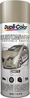Dupli-Color ECWRC8330 Custom Wrap Matte Gold
