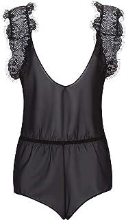 لباس من قطعة واحدة للنساء من بلوبيلا - بلون اسود ومقاس XL، موديل (HWS_L94_BLK)